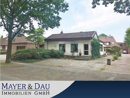 Oldenburg: Charmanter Bungalow mit Sanierungsbedarf in beliebter Lage, Obj. 4379