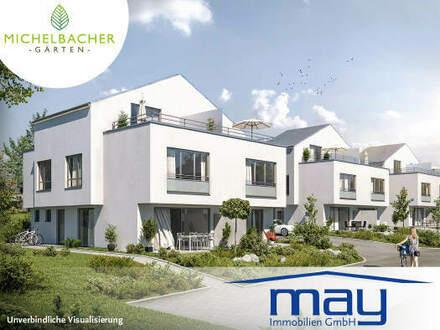 Wohnen wie im Urlaub in den **Michelbacher Gärten**-Neubau
