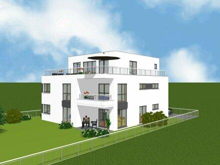Moderne 4-Zimmer-Wohnung mit großem Garten / Zweifamilienhaus / Erstbezug / provisionsfrei