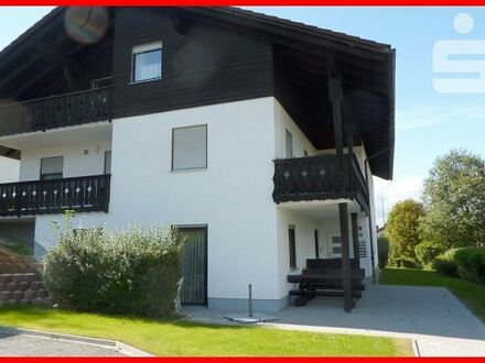 Zu vermieten: 2-Zimmer-Erdgeschosswohnung mit Terrasse in Zwiesel