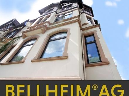 """Denkmalgeschütztes Zwiebeltürmchen """"4er"""" in Komponisten Lage"""