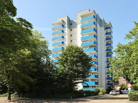 TT Immobilien bietet Ihnen: Zentrale Eigentumswohnung in guter Lage von Wilhelmshaven!