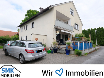 Mit Balkon, Gemeinschaftsgarten, Badewanne + Dusche!