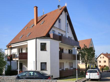 Gepflegte 2-Zimmer-Wohnung mit zwei Balkonen und Stellplatz in attraktiver Wohnlage