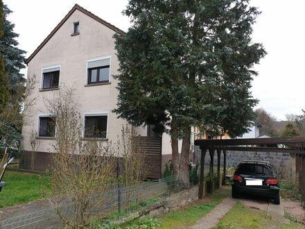 RB Immobilien – Zweifamilienhaus in Meisenheim, 6 Zimmer, Garten u. Carport. Ideale Kapitalanlage, Eigennutzung, oder Wohnen…