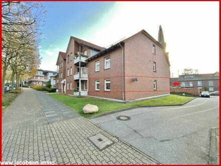 Ebenerdig wohnen - 2-Zimmer Wohnung im Herzen Schleswigs zu vermieten