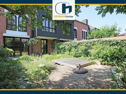 PROVISIONSFREI für Käufer – Hornemann-Stadthaus mit Einliegerwohnung und hübschem Garten in Greven