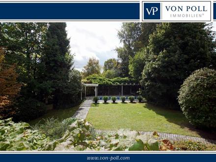 Wohlfühl-Oase im Grünen! Attraktive Villa in beliebter Landshuter Berglage!!