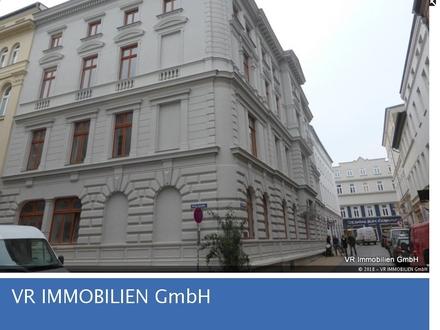 Wohnen im historischen Gebäude, 4-R-Wohnung mit Loftcharakter in super City-Lage