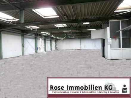 ROSE IMMOBILIEN KG: Gewerbeimmobilie als Lager-/ und Produktionshalle in Hille