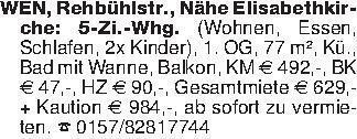 WEN, Rehbühlstr., Nähe Elisabe...