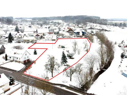 Bauträger aufgepasst! Über 8500 m2 Bauerwartungsland in Winterstettenstadt