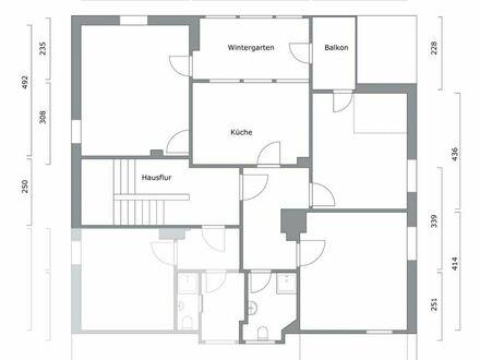 Erstbezug, top Lage: Liebenswerte und großzügige 3 ZKB Wohnung mit Wintergarten und Balkon Siegen Innenstadt ruhige Lage