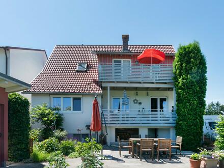 Tolles Landhaus im Hinterland von Lindau am Bodensee mit Blick auf den Pfänderrücken!
