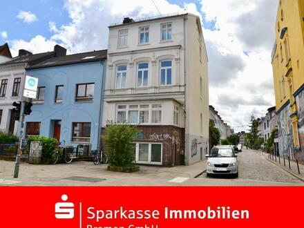 Eine modernisierte Single oder Studentenwohnung im beliebten Bremer Viertel