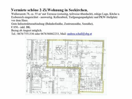 2 Zi.-Whg. in Seekirchen