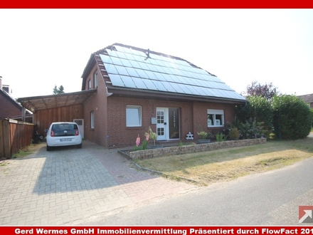 Einfamilienhaus in Haren-Rütenbrock zu verkaufen - Wohnen auf einer Ebene möglich!