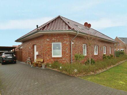 TT Immobilien bietet Ihnen: Zwei junge Doppelhaushälften in Ihlowerfehn!