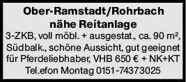 3-Zimmer Mietwohnung in Mühltal (64372)