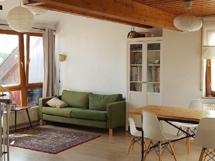 3 1/2 Zi-Komfortwohnung mit Galerie und großem Terrassenbalkon