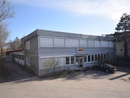 Meckenbeuren - Gerbertshaus - Multifunktionale Gewerbehalle mit Bürotrakt in Flughafennähe