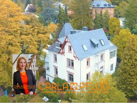 Rarität: Villa auf großem Gartengrundstück in Bestlage