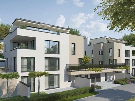 Penthouse-Maisonette mit großem, hellem Wohnbereich