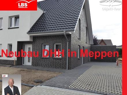 Schlüsselfertige Doppelhaushälfte in toller Lage von Meppen