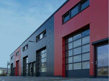 Neue Halle für Handwerker und Co. im Husumer Industriegebiet Ost