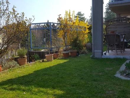 Gartenwohnung mit Tiefgaragenplatz und Aufzug