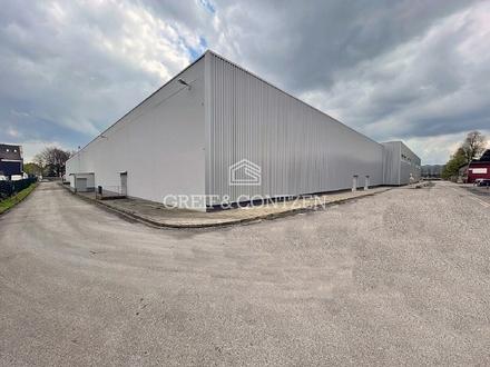 Logistikhallen | Rampen | ca. 5,80 m Hallenhöhe | PROVISIONSFREI