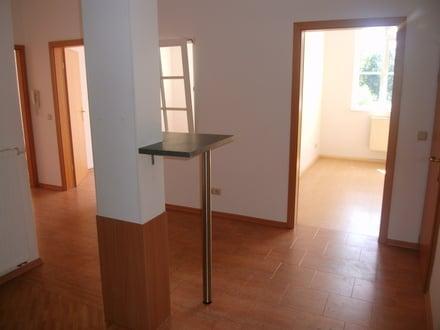 Küche - Blick zum Schlafzimmer