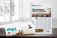 Print-Werbung in der ahgz