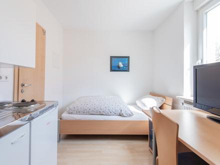 Kleines, voll möbliertes Apartment in zentrumsnaher Lage - Ingolstadt Süd