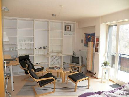 Schöne und ruhig gelegene 1-Zimmer-Wohnung mit Süd-West-Balkon in Stuttgart-Killesberg