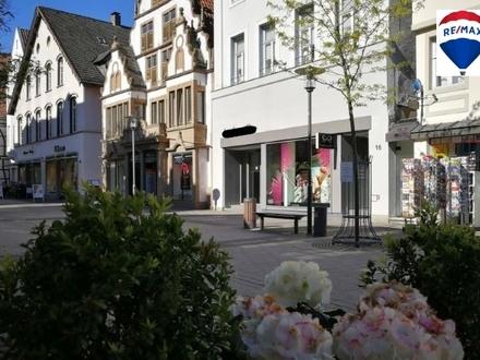 Ladenlokal in Detmolder Fußgängerzone zu vermieten!
