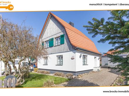 Zwischen FL und Kappeln! Charmantes Haus in Ostseenähe, ca. 95 qm Wfl., 4 Zi, Carport + Stellplatz!