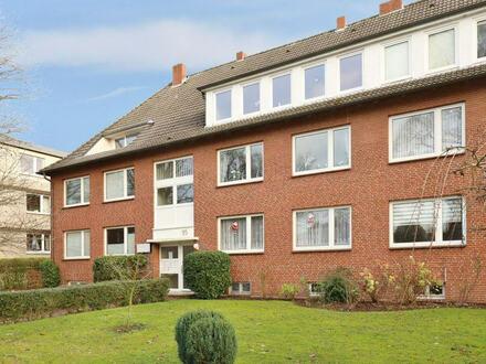 TT bietet an: 2,5-Zimmer-Mietwohnung mit Balkon im Villenviertel!