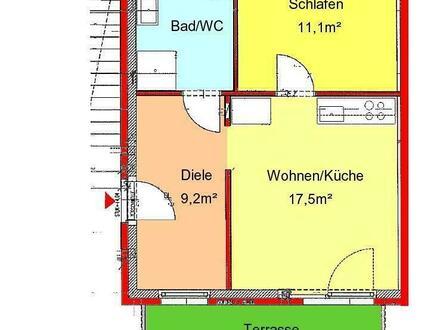 schöne 2-Zimmer-Neubauwohnung mit Terrasse und Tiefgaragenplatz in St. Peter