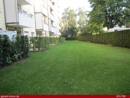 Memmingen: Wohnen in sehr zentraler Lage mit Blick ins Grüne!