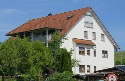 Maisonettewohnung mit See- und Alpensicht
