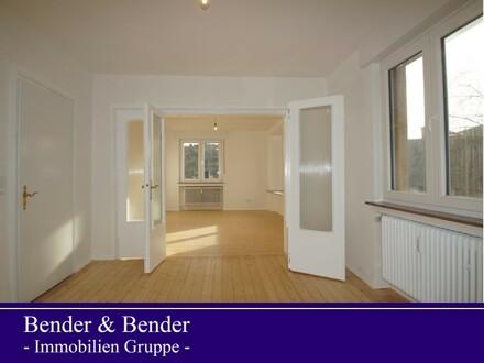 Zentrumsnahe Stadtwohnung in begehrter Wohnlage - frisch renoviert - sofort bezugsfertig !
