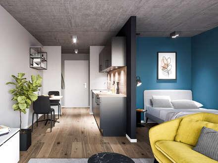 MIO Appartement / 1 Zimmer, teilmöbliert inkl. NK