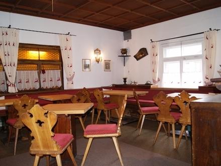 Restaurant mit Wohnung