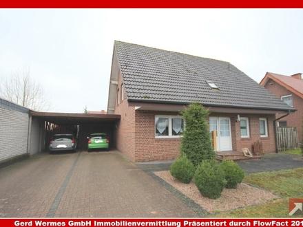 Einfamilienhaus mit Doppelcarport in Haren-Erika zu verkaufen!