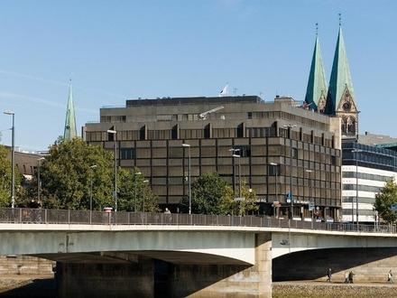 Zentrale Büroflächen an der Weser