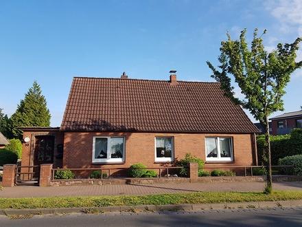Ebenerdiges Wohnhaus mit kleinem pflegeleichten Grundstück in Heiligenstedten