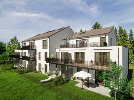 Neubau: 2 Zimmerwohnung mit Souterrain Gewerbe - Arbeiten und Wohnen unter einem Dach!