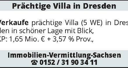 Prächtige Villa in Dresde