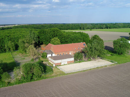 Dieses Anwesen bietet mit seinem Platz für 9 Pferde, einem Allwetterreitplatz,...